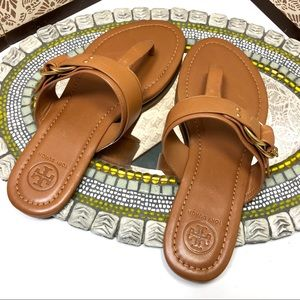 Women NWOT Tory Burch leather sandals, sz 7